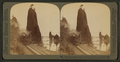 Picturesque grandeur of the great Columbia River, remarkable 'Pillars of Hercules (west) Oregon, from Robert N. Dennis collection of stereoscopic views.png