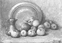 Piet Mondriaan - Apples, coffee pot and large copper pan - A95 - Piet Mondrian, catalogue raisonné.jpg