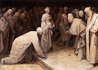 Pieter Bruegel the Elder - Christ and the Woman Taken in Adultery - WGA03469.jpg