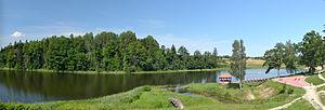 Pikajärve - Lake Pikajärv on village territory