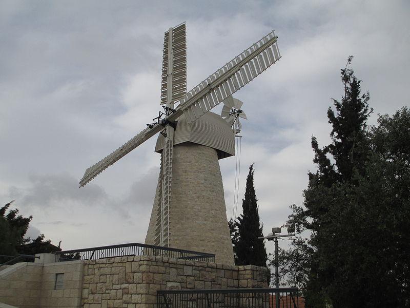 טחנת הרוח המשופצת בימין משה