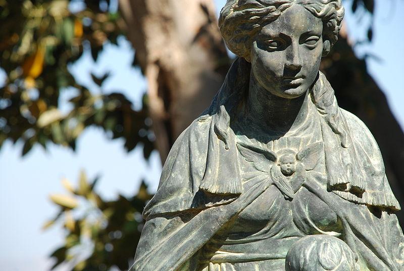 Statue in Tiberias