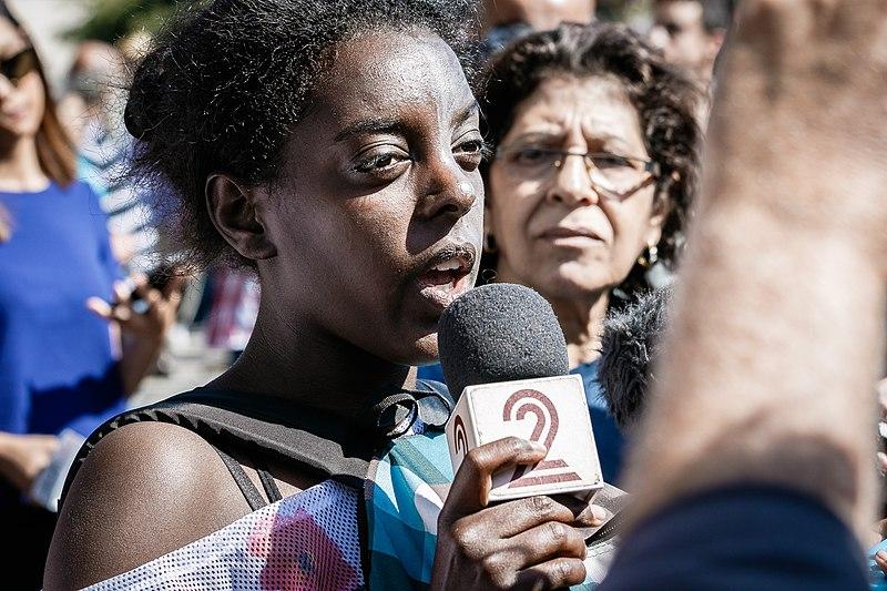 הפגנת יוצאי אתיופיה - תל אביב