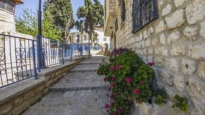 צפת העתיקה רחוב ישראל נגארה