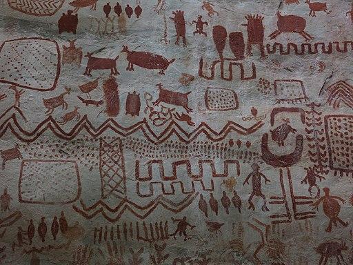 arte rupestre en colombia