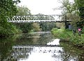 Pipe Bridge over the Staffordshire and Worcestershire Canal - geograph.org.uk - 1028255.jpg