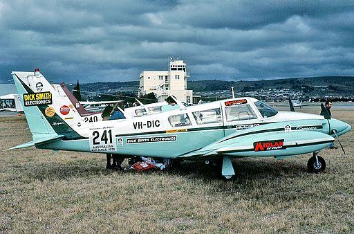 Piper PA-30-160 Twin Comanche C (VH-DIC) in the 1976 Australian Air Race