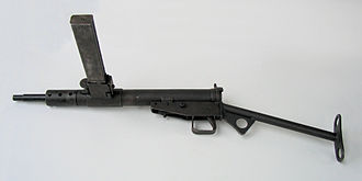 Sten - Sten Mk. II (trigger mechanism cover is missing)