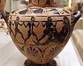 Pittore dell'aquila, hydria ceretana con accecamento di polifemo, cerveteri (con artigiani ionici), 520-530 ac ca., tomba I alla banditaccia 02.jpg