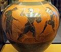 Pittore di michigan, anfora panatenaica con atena e giocatori di penthatloni, da vulci, 510-500 ac ca. 02.JPG