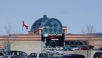 Place d'Orléans - Place d'Orléans from the Sport Chek entrance