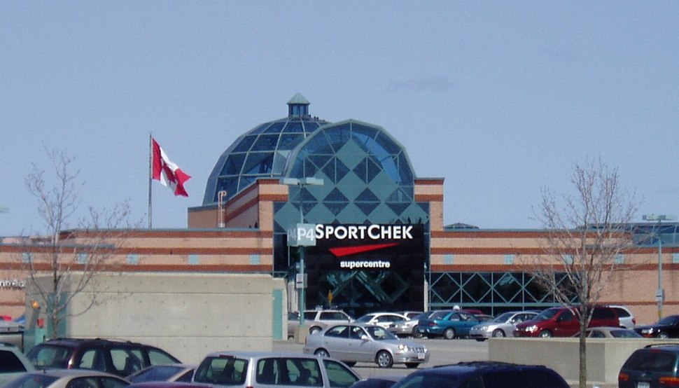 Place D'Orleans SportChek entrance April 2006