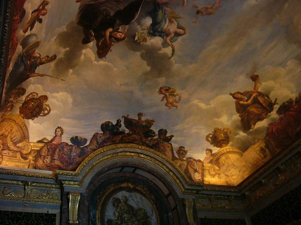 File plafond du salon de l abondance du chateau de for Video du salon de l erotisme