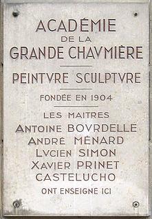 Académie de la Grande Chaumière An art school in the 6th arrondissement of Paris, France