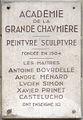 Plaque Académie de la Grande Chaumière, Paris 6.jpg