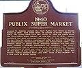 Plaque at first Publix supermarket.jpg