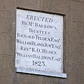 Plaque on rear of Barrow House, Borden - geograph.org.uk - 656046.jpg
