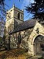 Pleasley - church tower - geograph.org.uk - 1045926.jpg