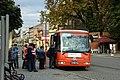 Poděbrady, Riegrovo náměstí, autobus.jpg
