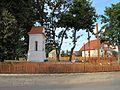 Podlaskie - Brańsk - Brańsk - Poniatowskiego, Kilińskiego, Binduga - Kapliczka św. Piotra 20110903 05.JPG