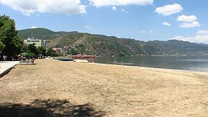 Pogradec - Beach of Pogradec