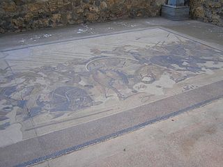 Replica of the Alexander Mosaic