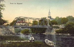 Rigaud, Quebec - Rigaud Bridge c. 1910