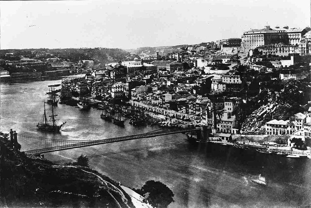 Photo de Porto avant 1880 (avant la construction du pont