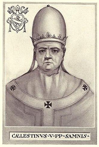 Pope Celestine V - Image: Pope Celestine V