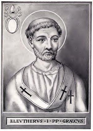 Pope Eleutherius - Image: Pope Eleuterus
