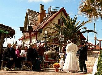 Popeye Village - Image: Popeye Village Marriage Popeye and Olive Oyl