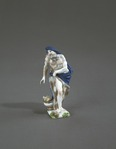 Porslin. Figurin föreställande Vintern - Hallwylska museet - 89266.tif