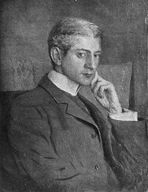 Frank Norris - Portrait of Norris, by Ernest Peixotto