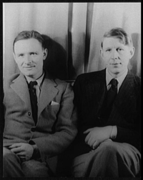 Christopher Isherwood and W.H. Auden