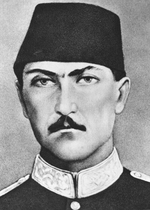 Portrait of a volunteer officer of the Ottoman Civilian Battalion