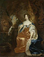 Portrait of Mary Stuart (1662-95), wife of Prince William III