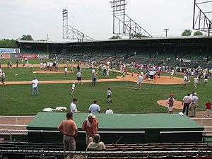 Rickwood Field - Image: Post game fun
