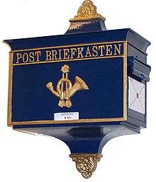 postbriefkasten wikipedia