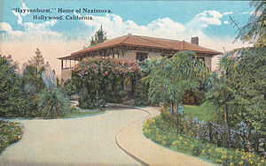 Garden of Allah Hotel - Hayvenhurst, an estate built by William H. Hay in 1913 and later purchased by Alla Nazimova, who converted it into a hotel in 1927