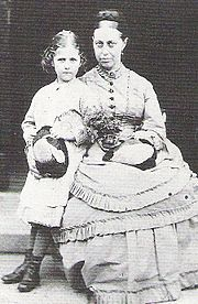 Potter and her mother Helen Leech Potter
