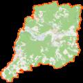 Powiat krośnieński (województwo lubuskie) location map.png