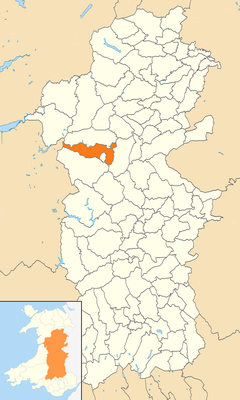Powys Wales communities - Llanidloes Without locator.png