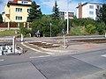Průběžná, rekonstrukce TT, přechod u Žernovské.jpg