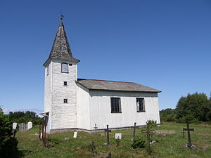 Prangli - Prangli church