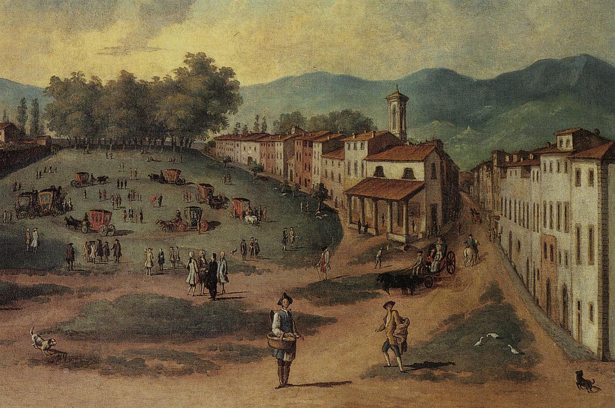 Chiesa di santa maria maddalena al prato wikipedia for Piazza san francesco prato