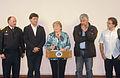 Presidenta Bachelet realiza declaraciones ante incendio en Valparaíso 01.JPG