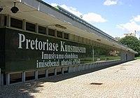 Side View of the Pretoria Art Museum