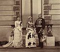 Prince Alexander of Hesse with his wife and only daughter.jpg