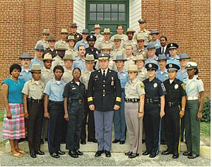Prince George's County Sheriff's Office - PGSO deputies in 1986