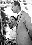 Prince Philip, Duke of Edinburgh, Cambridge, Waikato (January 1 1954) (17843185594).jpg